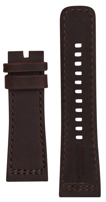 SevenFriday Strap Calf Suede Brown P3/02 Regular