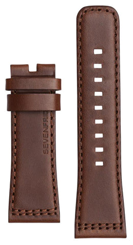 SevenFriday Strap Calf Leather Brown V2/01 Regular