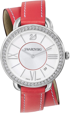 Swarovski Watch Aila Day Double Tour Berry