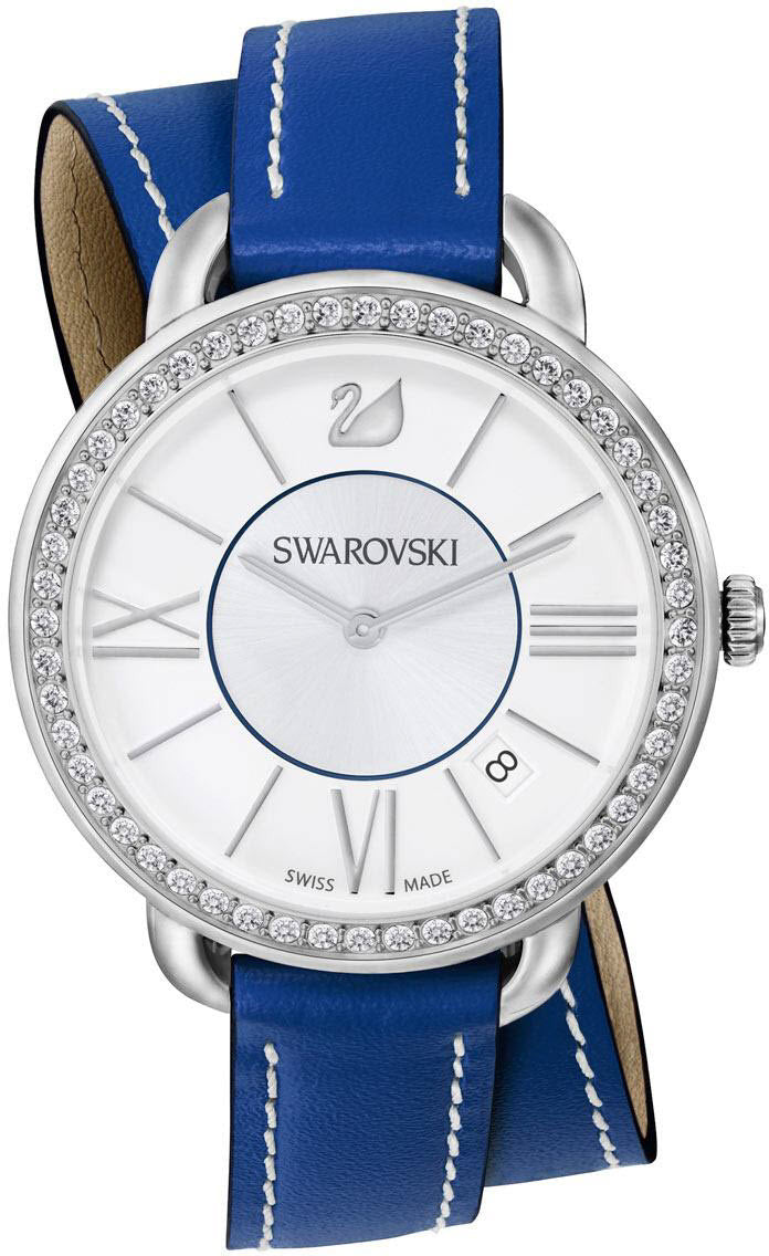 Swarovski Watch Aila Day Double Tour Blue