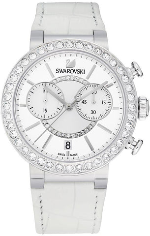 Swarovski Watch Citra Sphere Chrono White