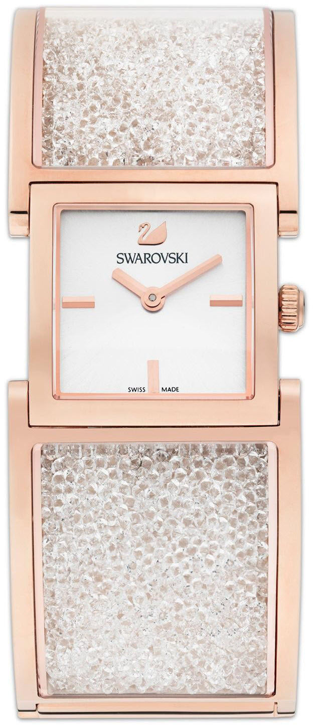 Swarovski Watch Crystalline Bangle Rose Gold Tone