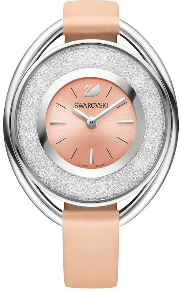 Swarovski Watch Crystalline Oval Light Rose