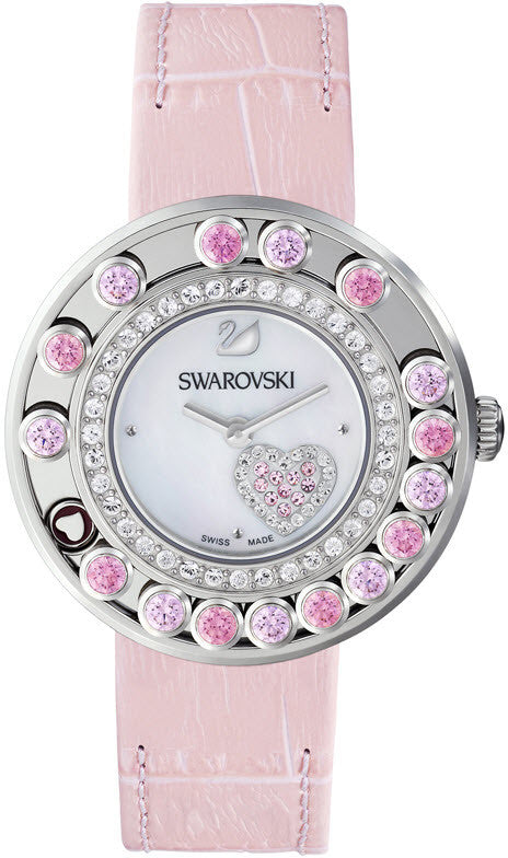 Swarovski Watch Lovely Crystals Pink Heart