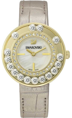 Swarovski Watch Lovely Crystals Light Gold Tone