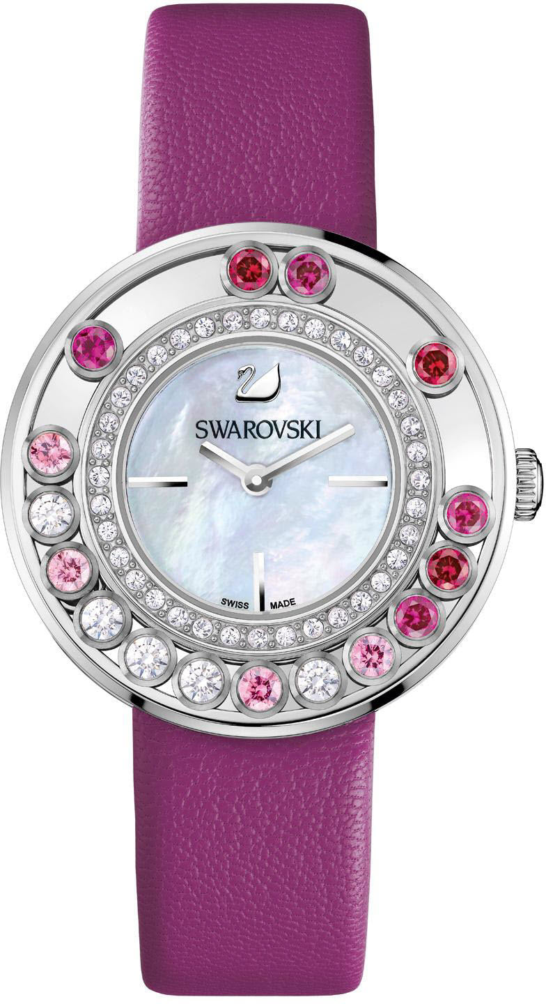 Swarovski Watch Lovely Crystals Magenta