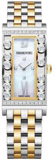 Swarovski Watch Lovely Crystals Square /Yellow Gold Tone 5096689