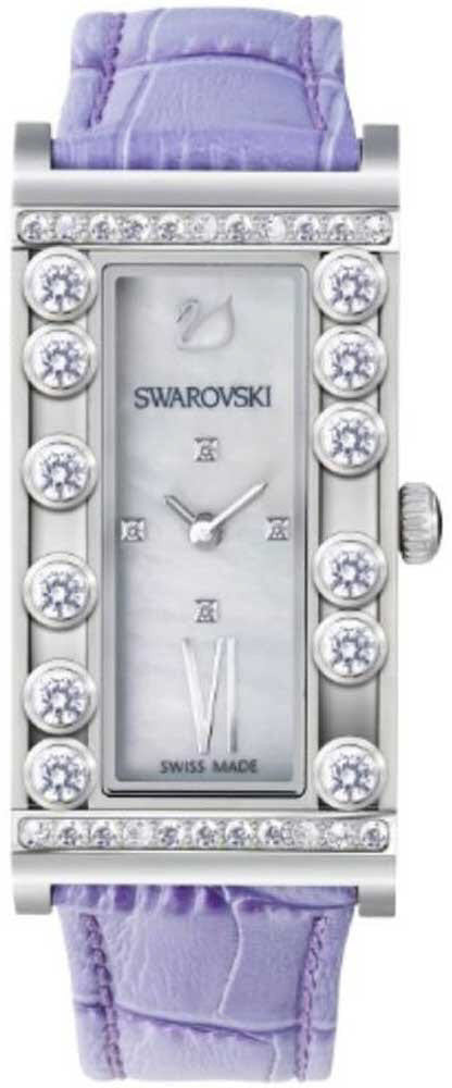 Swarovski Watch Lovely Crystals Square Lilac