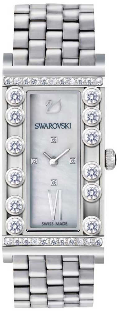 Swarovski Watch Lovely Crystals Square White