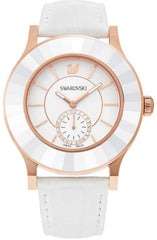 Swarovski Watch Octea Classica White Rose Gold Tone