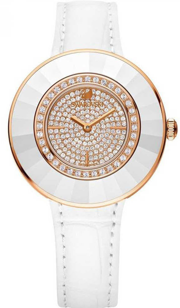 Swarovski Watch Octea Dressy White Rose Gold Tone