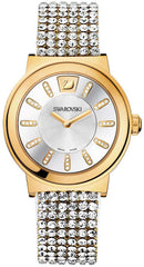 Swarovski Watch Piazza Mesh Yellow Gold Tone