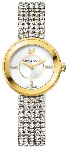 Swarovski Watch Piazza Mini Mesh Yellow Gold Tone