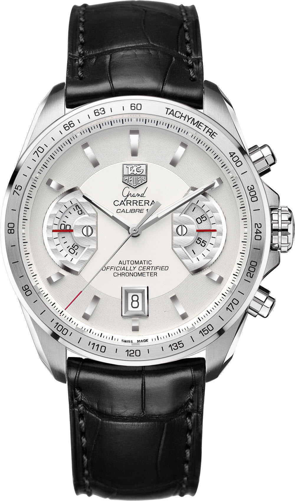 TAG Heuer Watch Grand Carrera Chronograph Calibre 17