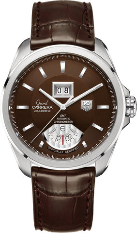 TAG Heuer Watch Grand Carrera GMT Grande Date Calibre 8