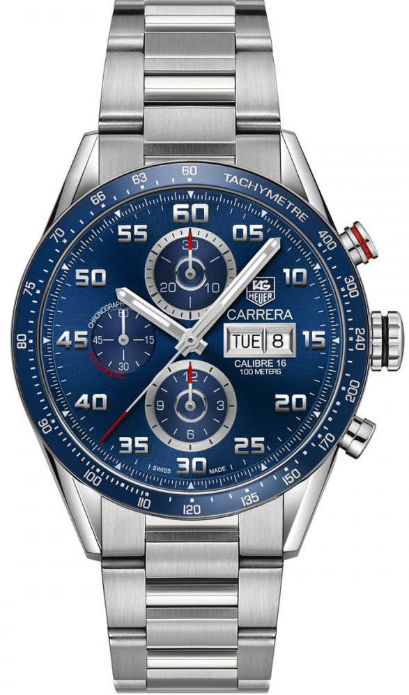 TAG Heuer Watch Carrera Calibre 16 Day Date Chronograph PreOrder