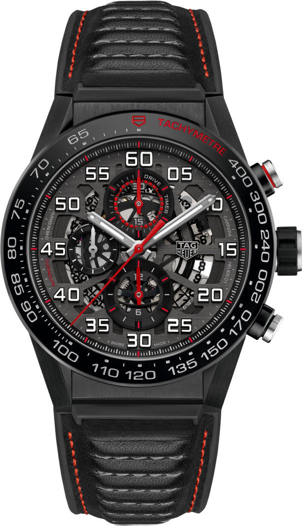 TAG Heuer Watch Carrera Calibre Heuer 01 Automatic Chronograph PreOrder