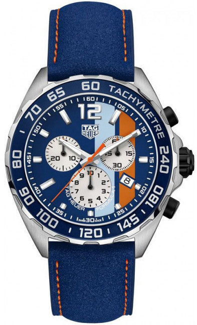 TAG Heuer Watch Formula 1 Chronograph Gulf Special Edition