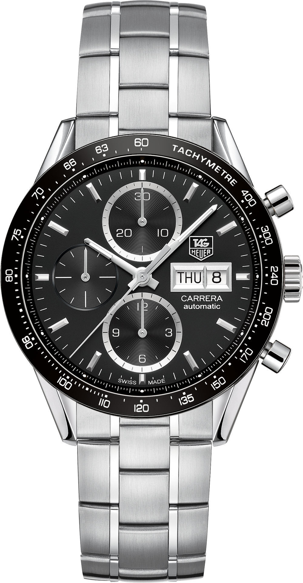 TAG Heuer Watch Carrera Day Date Calibre 16 D
