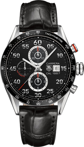TAG Heuer Watch Carrera Chronograph Calibre 1887 D