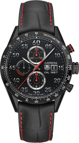 TAG Heuer Watch Carrera Racing Chronograph Calibre 1887