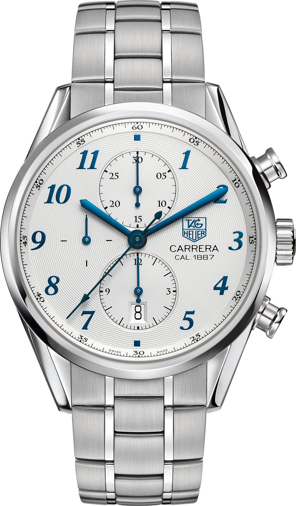 TAG Heuer Watch Carrera Heritage Chronograph Calibre 1887 D
