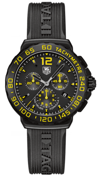 TAG Heuer Watch Formula 1 Yellow