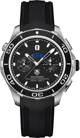 TAG Heuer Watch Aquaracer Countdown Automatic Chronograph D