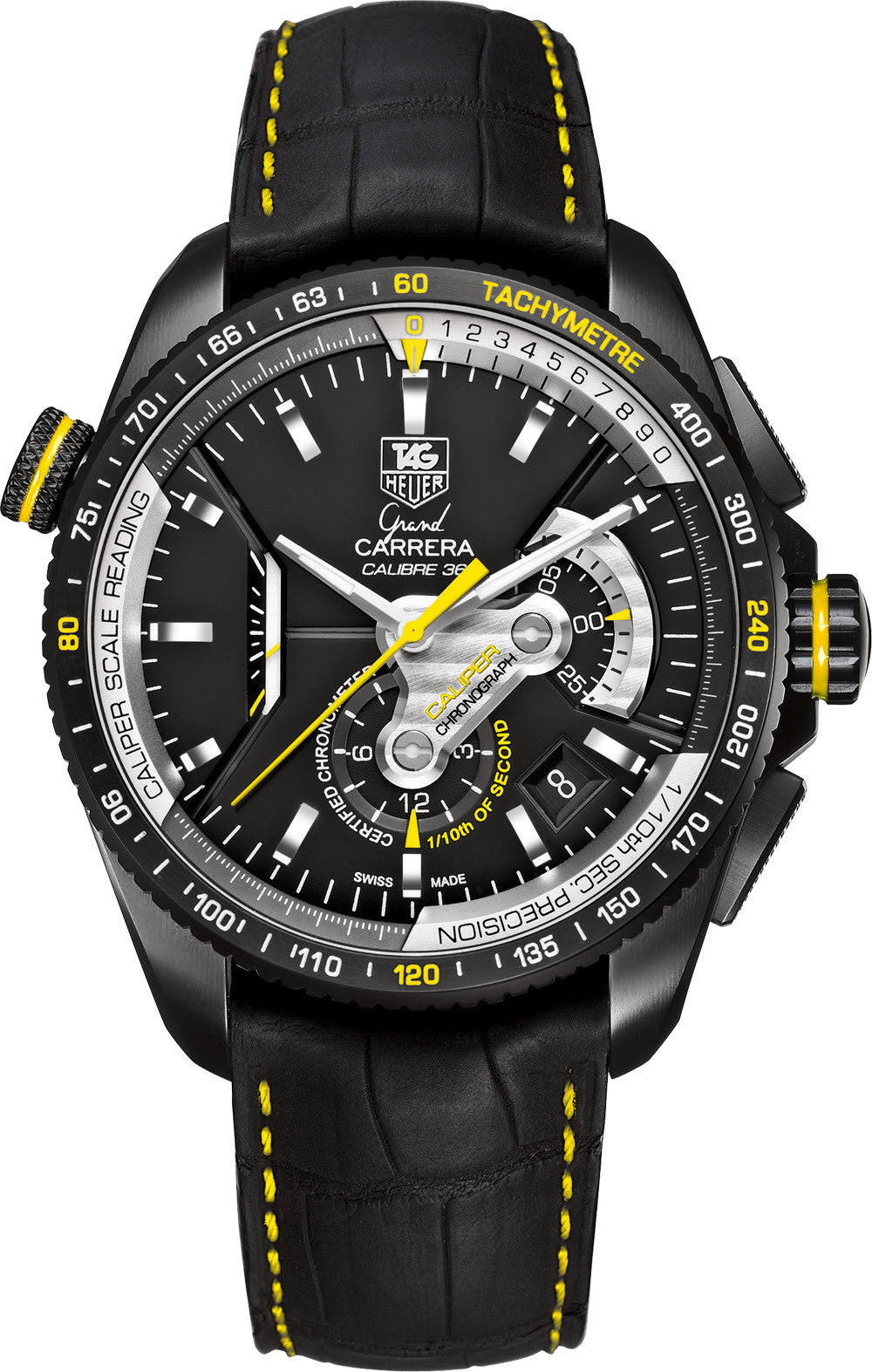 TAG Heuer Watch Grand Carrera Automatic Chronograph