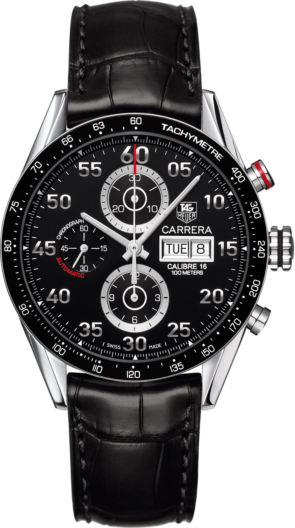 TAG Heuer Watch Carrera Day Date Automatic Chronograph