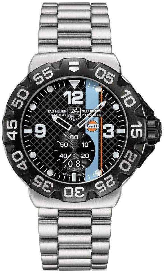 TAG Heuer Watch Formula 1 Gulf Edition D