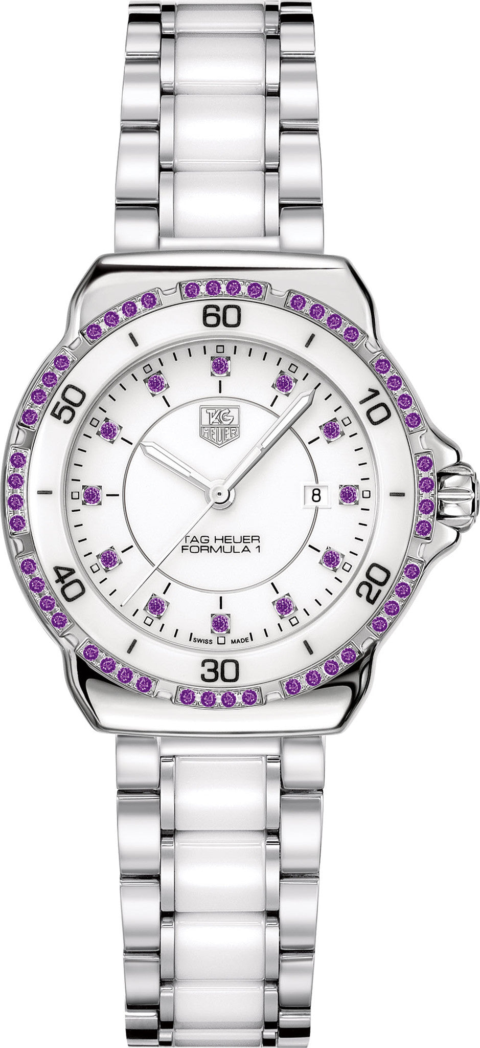 TAG Heuer Watch Formula 1 Amethyst Dial and Bezel