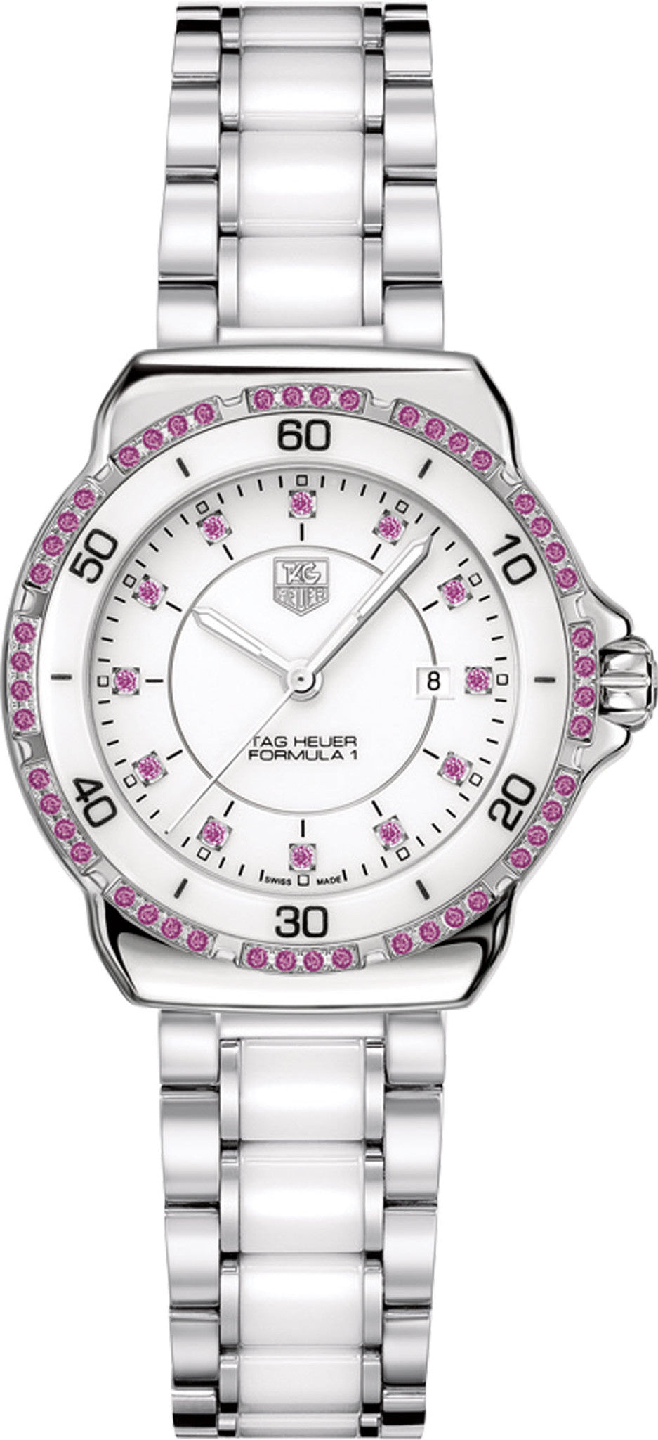 TAG Heuer Watch Formula 1 Pink Sapphire Dial and Bezel
