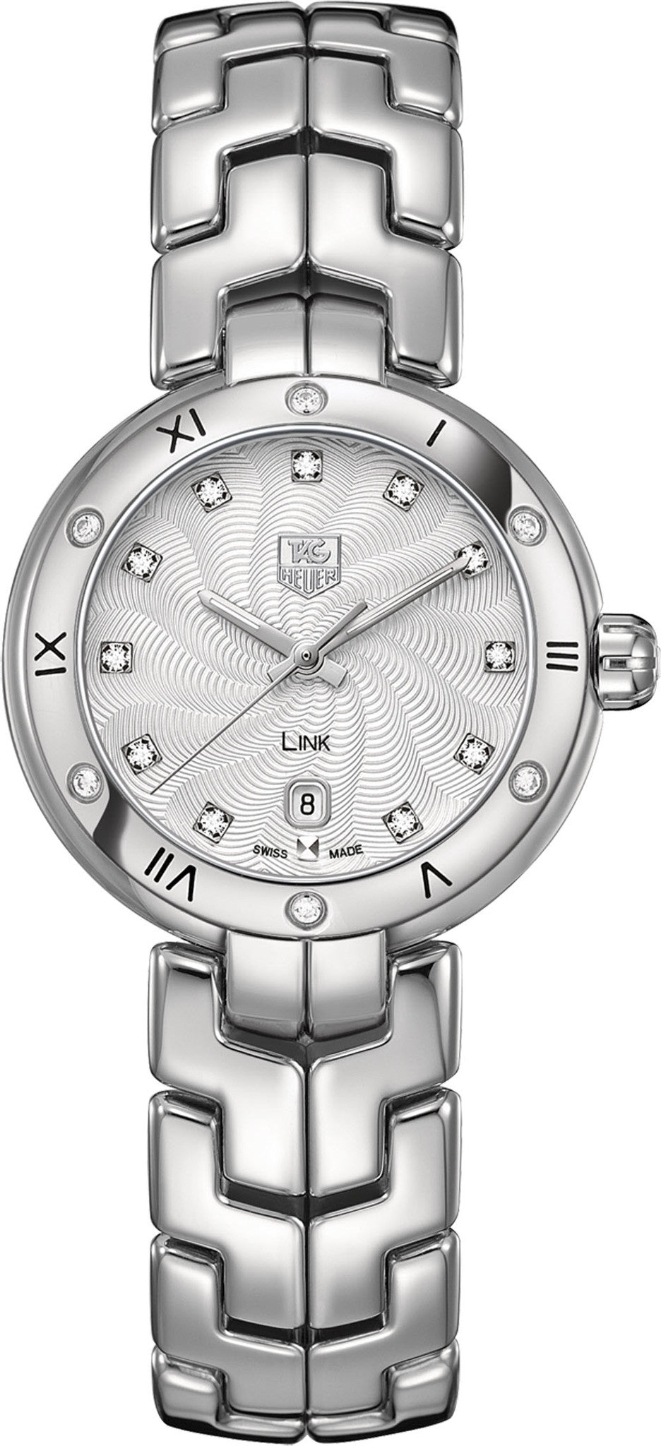 TAG Heuer Watch Link Diamond Dial