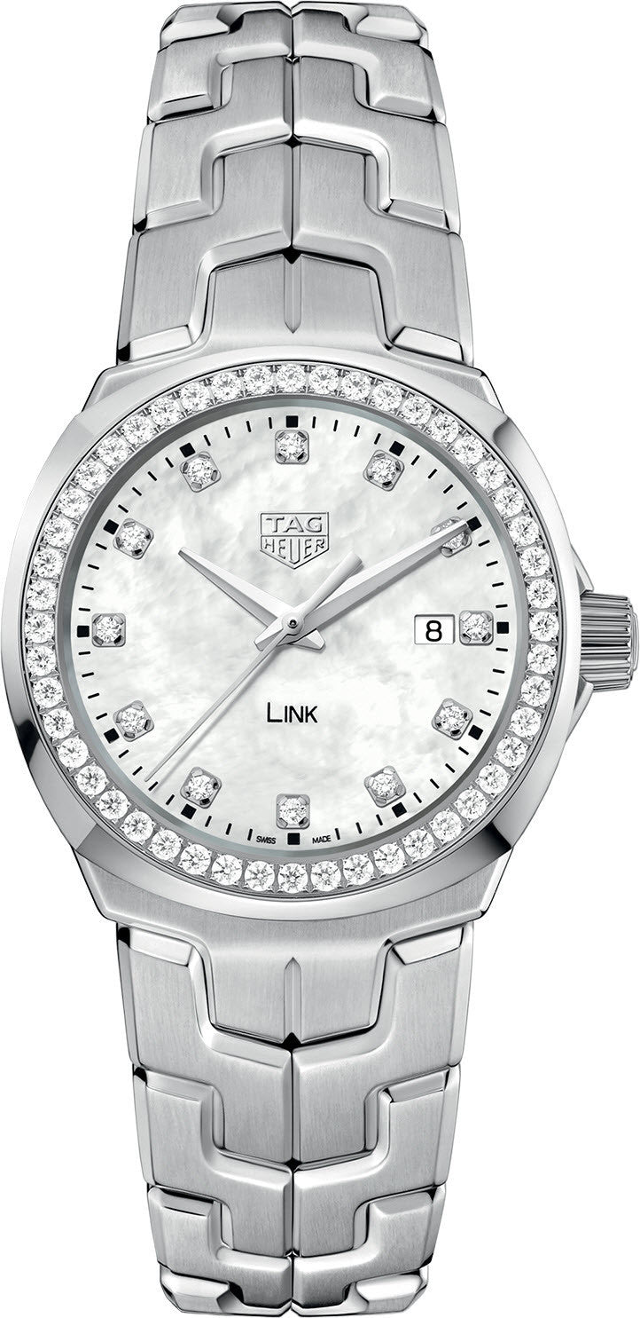 TAG Heuer Watch Link Mother of Pearl