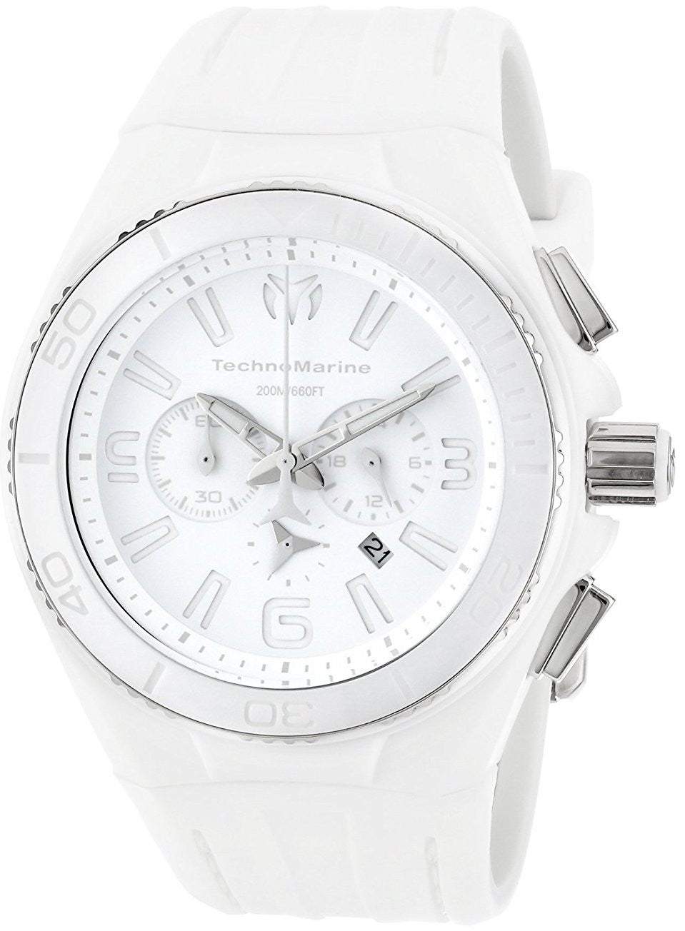 TechnoMarine Watch Cruise NightVision White Phantom