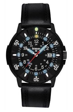 Traser H3 Watch P 6508 Code Blue Leather D
