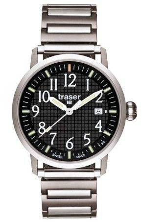 Traser H3 Watch Classic Black Bracelet