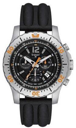Traser H3 Watch P 6602 Extreme Sport Chronograph Silicon