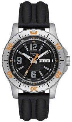 Traser H3 Watch P 6602 Extreme Sport Silicon Black