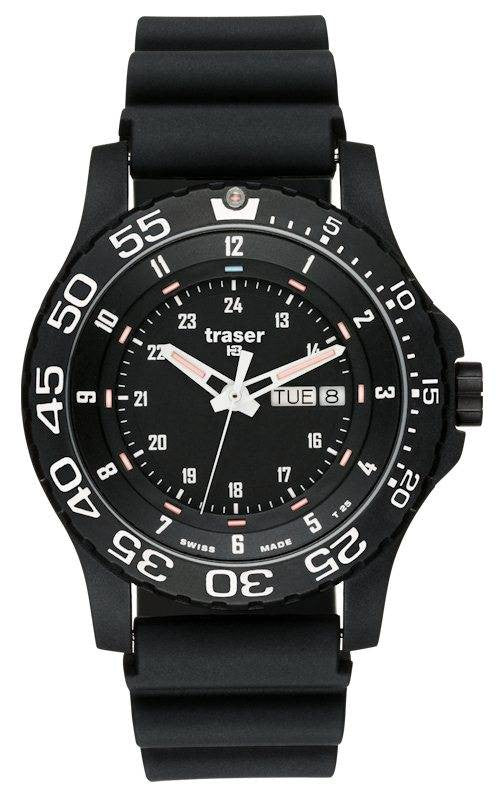 Traser H3 Watch P 6600 Elite Red Rubber