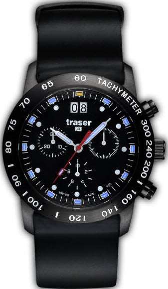 Traser H3 Watch Classic Chrono BD Pro Blue