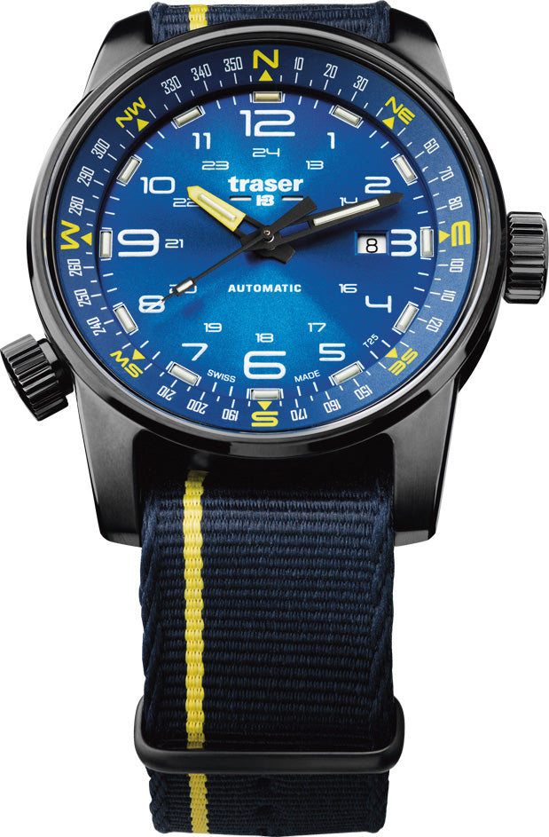 traser h3 watches tactical adventure p68 pathfinder automatic blue