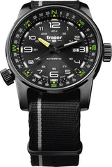 Traser H3 Watch Tactical Adventure P68 Pathfinder Automatic Black