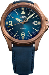 Traser H3 Watches Active Lifestyle P67 Officer Pro Automatic Bronze Blue