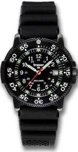 Traser H3 Watch P 6504 Black Storm Pro Rubber