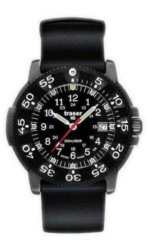 Traser H3 Watch P 6504 Black Storm Pro Silicon