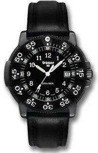 Traser H3 Watch P 6504 Black Storm Pro Leather