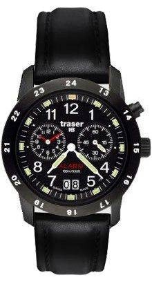 Traser H3 Watch Classic Alarm BD Pro Blue Leather