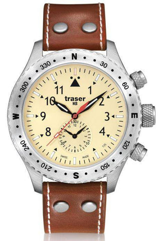 Traser H3 Watch Aviator Jungmeister Leather